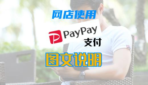 图文说明:网店现在支持PayPay在线快捷支付了!